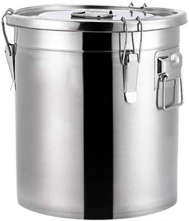Sellada sopa espese barril tanque de almacenamiento de usos múltiples de acero inoxidable hogar barril sellado puede utilizar for barriles de barriles de leche, arroz, aceite, barriles, toneles de vin