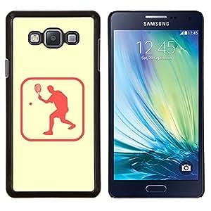 EJOOY---Cubierta de la caja de protección para la piel dura ** Samsung Galaxy A7 A7000 ** --Pong Zona Tenis