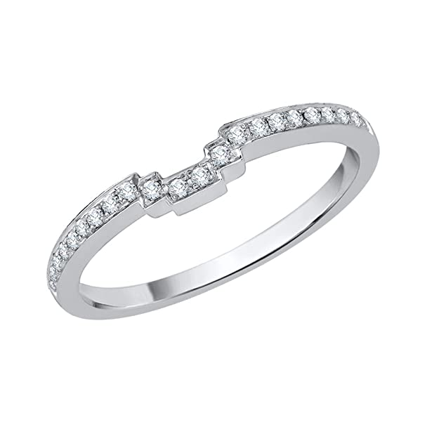 G-H,I2-I3 1//10 cttw, Size-12.25 Diamond Wedding Band in Sterling Silver