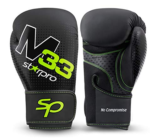 Starpro | M33 Boxing Gloves for Strong Punches & Fast KOs | Boxing Gloves for Men, Boxing Gloves for Women, Kickboxing…
