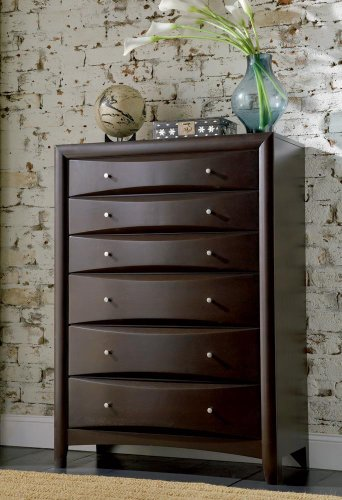 Coaster-200415-Phoenix-6-Drawer-Bedroom-Chest-Dark-Cappuccino-Finish