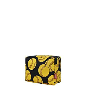 Softball NGIL Large Cosmetic travel Pouch