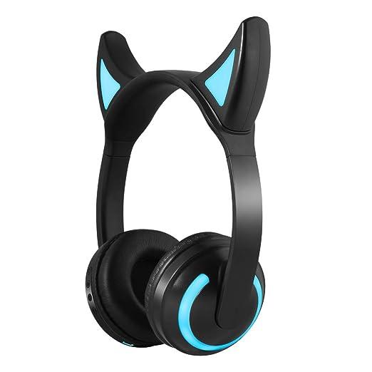 EARTHTYJ Auriculares Inalámbricos con Bluetooth HiFi Iluminan La ...