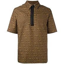 Givenchy Oversized Star Logo Zipper-Neck Cotton Polo Shirt (XS)
