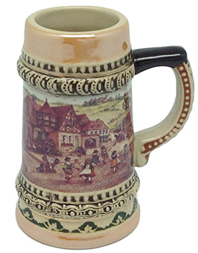 Ceramic-Beer-Stein-with-German-Village-Dancers-Shot-Glass-35