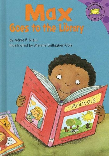 Max Goes to the Library (Read-It! Readers: The Life of Max) by Brand: Picture Window Books