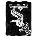 MLB Chicago White Sox Micro Raschel Plush Throw Blanket, Trip Play Design