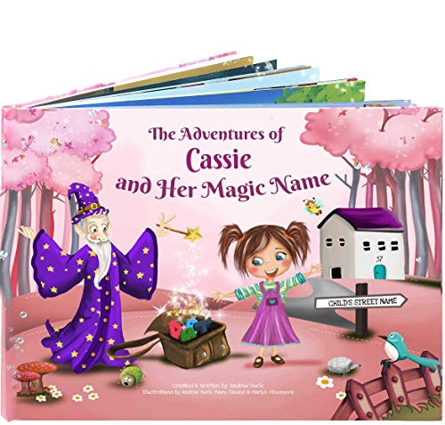Personalized Bedtime Story Book for Kids - A Unique Story Based on the Letters of a Childs Name. Custom Name Book for Children