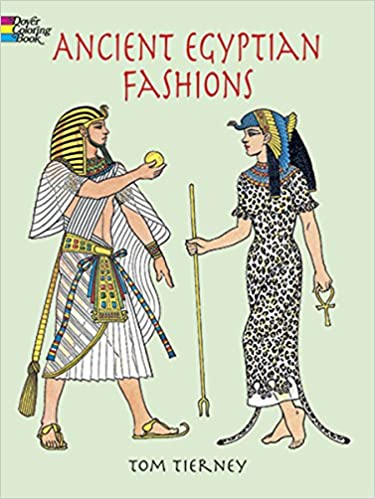 Free Download Ancient Egyptian Fashions (Dover Fashion Coloring ...
