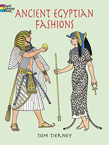 Ancient Egyptian Fashions (Dover Fashion Coloring Book) ()