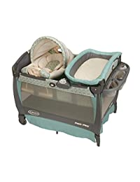 Graco Pack 'n Play Playard Bassinet Changer with Cuddle Cove Rocking Seat, Winslet BOBEBE Online Baby Store From New York to Miami and Los Angeles