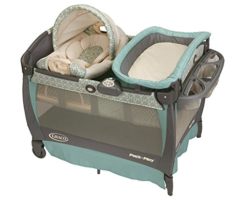 Graco Pack U0027n Play Playard With Cuddle Cove Rocking Seat, Winslet
