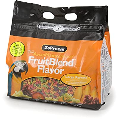 ZuPreem Fruit Blend Bird Food Large Parrot by Animal Supply Co Llc
