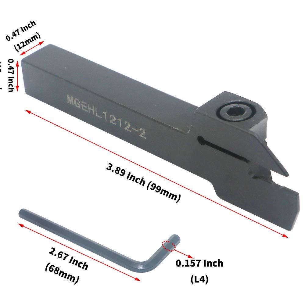 MGIVR2016-2 CNC Lathe Turning Tool Boring Holder For 2mm MGMN200 CNC Lathe