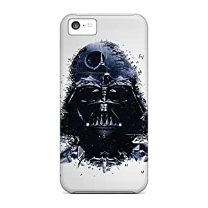 Durable Protector Cases Covers With Star Wars Darth Vader Artwork Hot Design For Iphone 5c