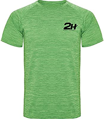 Camiseta técnica de pádel 2H Soldier Green, XL: Amazon.es ...