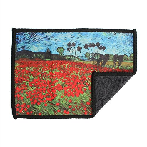 microfiber-cleaning-cloth-for-ipad-poppies-van-gogh