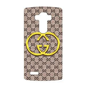 Classical Simple Gucci Logo Phone Case 3D Hard Cover Case for LG G4 Gucci Pattern
