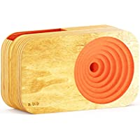 Handcrafted Wooden Sound System Universal Smartphone Compatible