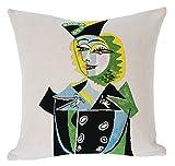 Picasso – Pillow case – Portrait de Nusch (1937)