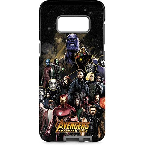 newest collection 7ec06 0a492 Amazon.com: Avengers Galaxy S8 Case - Avengers Front Lines | Marvel ...
