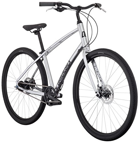 Cheap Diamondback Bicycles Division Comfort Bicycle, Silver, 19″/Large