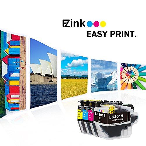 E-Z Ink (TM) Compatible Ink Cartridge for Brother LC3019 XXL LC3019BK LC3019C LC3019M LC3019Y (1 Black, 1 Cyan, 1 Magenta, 1 Yellow) 4 Pack works with MFC-J6930DW MFC-J5330DW MFC-J6530DW MFC-J6730DW Photo #6