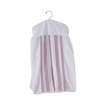 Baby Doll Bedding Soho Crib Diaper Stacker, Pink