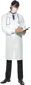 Disfraz de médico Colour blanco L 52/54 médico DISFRAZ ...