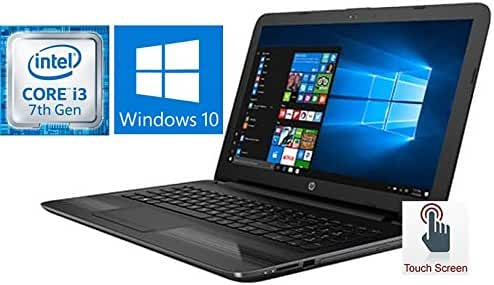 "HP Notebook 15.6"" Touchscreen Premium Laptop PC (2017 Version), 7th Gen Intel Core i3-7100U 2.4GHz Processor, 8GB DDR4 RAM, 1TB HDD, SuperMulti DVD Burner, Bluetooth, Windows 10"