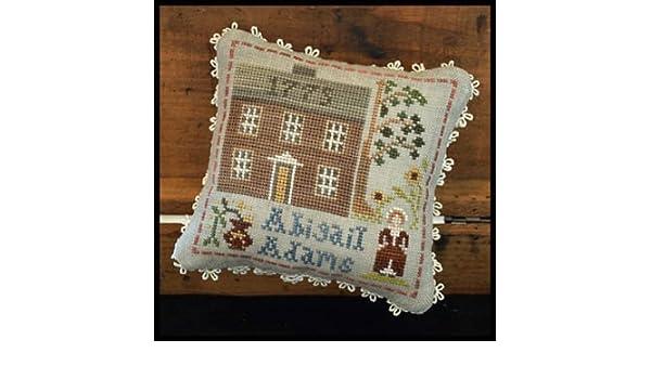 Abigail Adams Cross Stitch Chart and Free Embellishment Early American