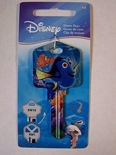 Finding Nemo Dory Kwikset House Key Blank KW1/KW10 - Kw10 Key Blank