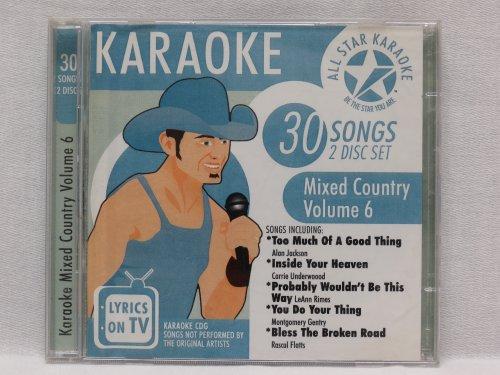 Karaoke: Mixed Country 6