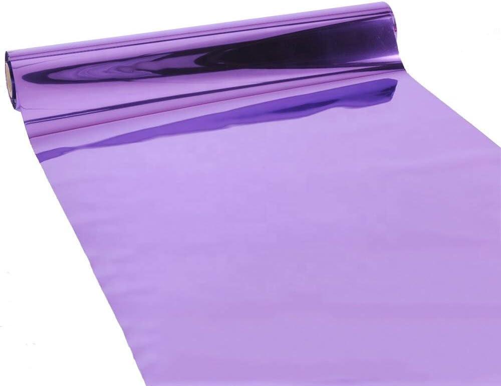 doppelseitiger Silber-Teppich Hochzeits-Teppich f/ür drinnen und drau/ßen Hochzeits-Abschlussfeier-Zubeh/ör und Dekorationen Modern 3.3/×166 ft violett 3,3 /× 10 m Spiegel-Gangl/äufer Event-L/äufer