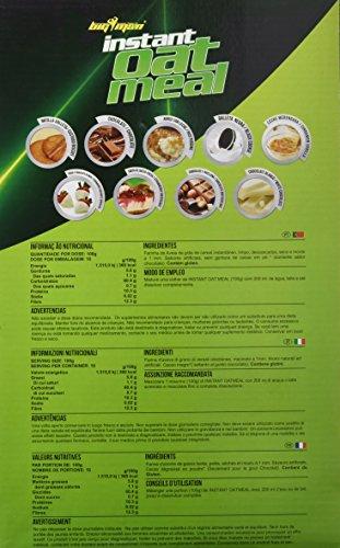 Big Man Nutrition Instant Oatmeal Suplemento de Carbohidratos Chocolate Blanco - 3000 gr: Amazon.es: Salud y cuidado personal