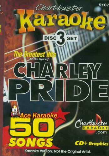 Chartbuster Karaoke CDG 3 Disc Pack CB5107 - The Greatest Hits of Charley Pride ()