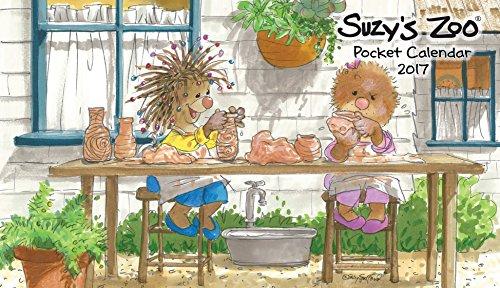 2017 Suzy's Zoo Pocket Calendar (4x7)