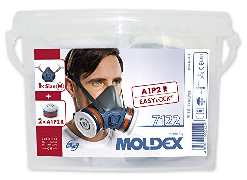 MOLDEX 7122 Respiratory box Series 7000 A1P2 R, Medium