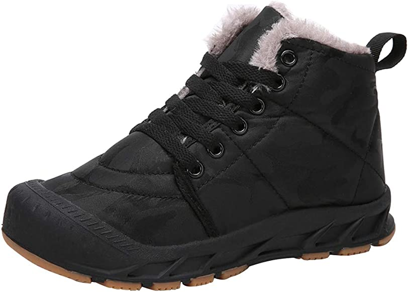 Boys Winter Snow Boots Girls Ankle