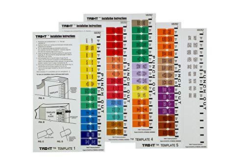Index Tabs for DSM-5