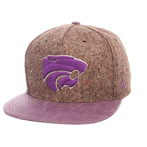 - Zephyr NCAA Kansas State Wildcats Adult Men Legend Heritage Collection Hat, Adjustable, Tweed