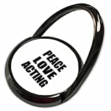 3dRose InspirationzStore Happiness is - Peace Love and Acting - Things that make me happy - drama fan gift - Phone Ring (phr_184841_1)