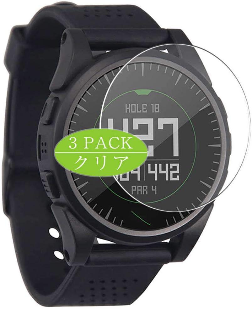VacFun 3 Piezas Claro Protector de Pantalla, compatible con Bushnell Excel Golf GPS Smartwatch Hybrid Watch, Screen Protector Película Protectora(Not Cristal Templado)