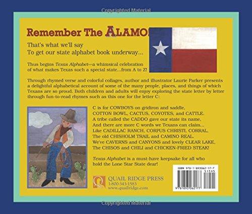 Texas Alphabet by Quail Ridge Press