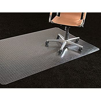 Amazoncom Chair Mat For Carpets Low Medium Pile Computer - Office chair mat