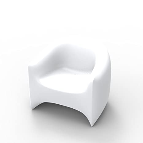 Amazon.com: Vondom Blow Butaca, color blanco: Kitchen & Dining