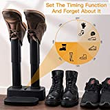 Teletrogy Electric Shoe And Boot Dryer With Timer