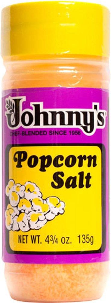 Johnny's Gluten Free POPCORN SALT 4.75oz (3 Pack)