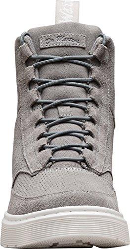 Men's Dr Mid Combat Kamar Boot Martens Grey 77UqrawS5x