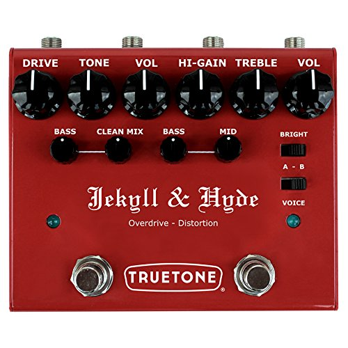 Truetone V3 Jekyll & Hyde Overdrive & Distortion Guitar Effects Pedal (Best Distortion Pedal For Punk)